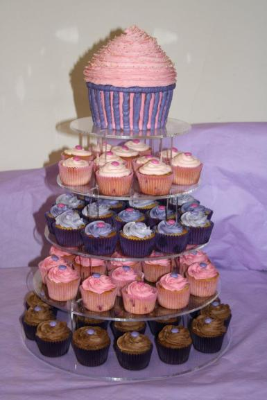Cupcake tower for Lizzy's 18th birthday