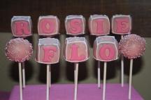 Christening Cake pops