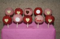 Valentines Cake pops