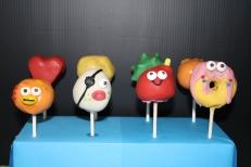 Moshi Monster Cake pops