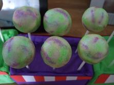 Toy Story Buzz Lightyear Cake Pops