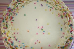 confetti sprinkles cake