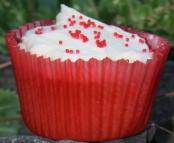 Poppy 'Coquelicot' Cupcakes