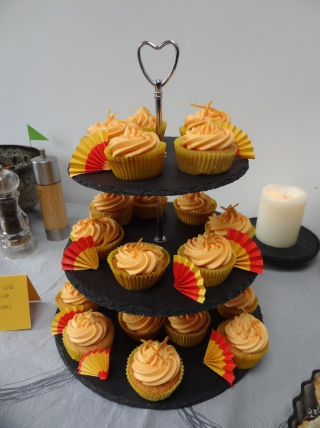Seville orange and Sherry Spanish cupcakes
