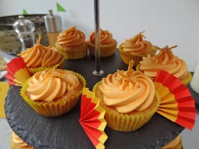 Seville orange and Sherry Spanish cupcakes