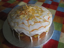 Ginger and Orange Cake