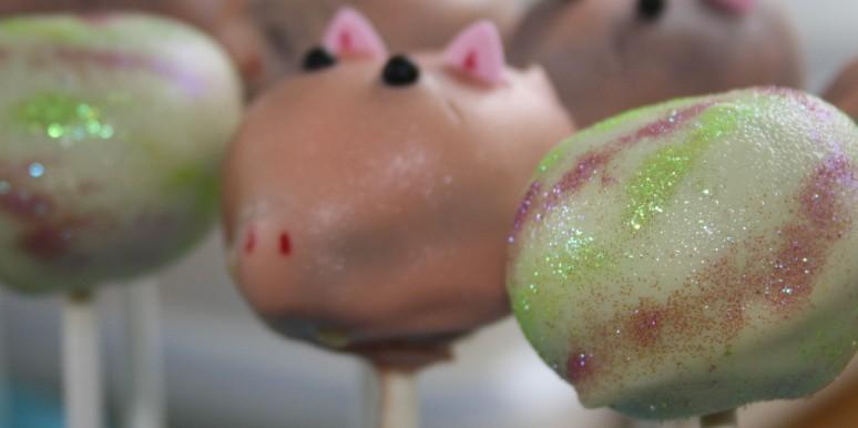 Toy Story Cake pops