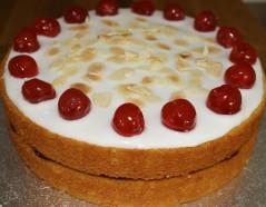 cherry bakewell cake