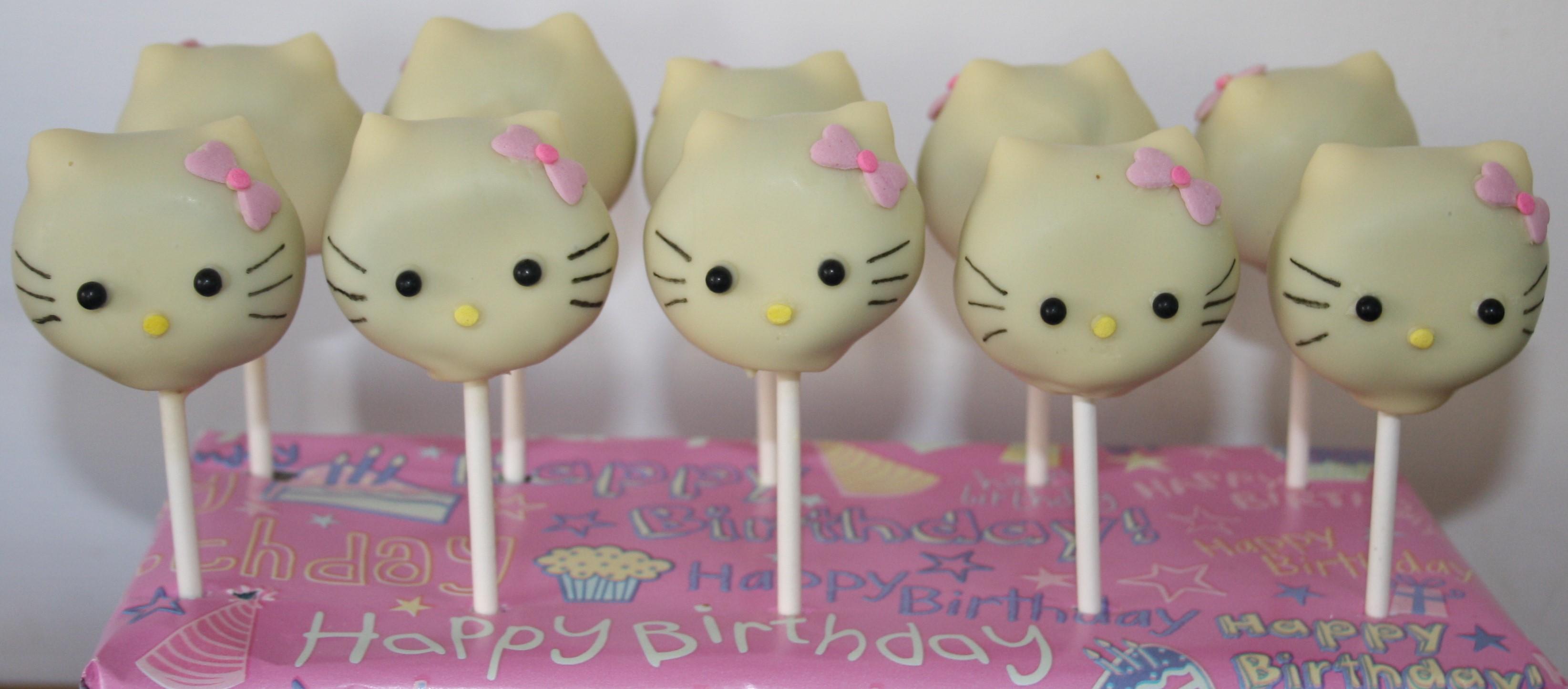 d5defdd5f Hello Kitty Cake Pops – Cupcake Sisters