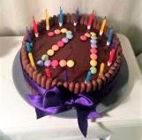 21st Chocolate cake
